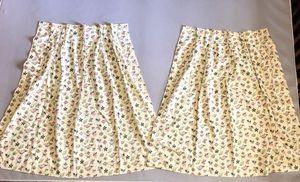 Pair of Vintage Pleated Curtain Panels for Sale in Atlanta, GA
