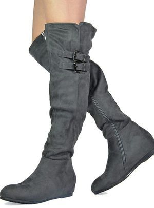 Knee high suede boots. for Sale in Nottingham, MD