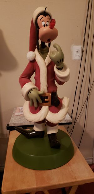 Big Christmas Collectible Goofy Statue.... for Sale in Dallas, TX