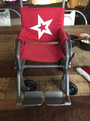 American girl doll wheel chair does not come with doll never really used in excellent condition! for Sale in Brentwood, TN