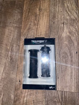 Triumph gummy grips for Motorcycle for Sale in Portland, OR
