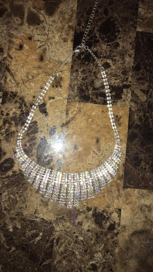 Necklace worn once ! Diamonds for Sale in Evansville, IN