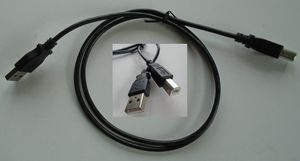 USB 2.0 A to B Printer Scanner Cable Black 3 FT for Sale in Willowbrook, IL