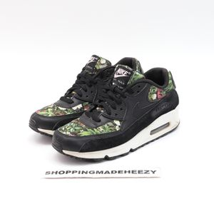 (Wm 9.5) Nike Air Max 90 SE Womens Sneakers 881105-001 Spring Garden Black for Sale in Arlington, TX