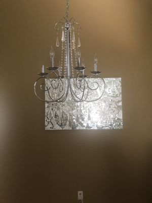 Pier1 Mosaic and chandelier for Sale in Ontario, CA