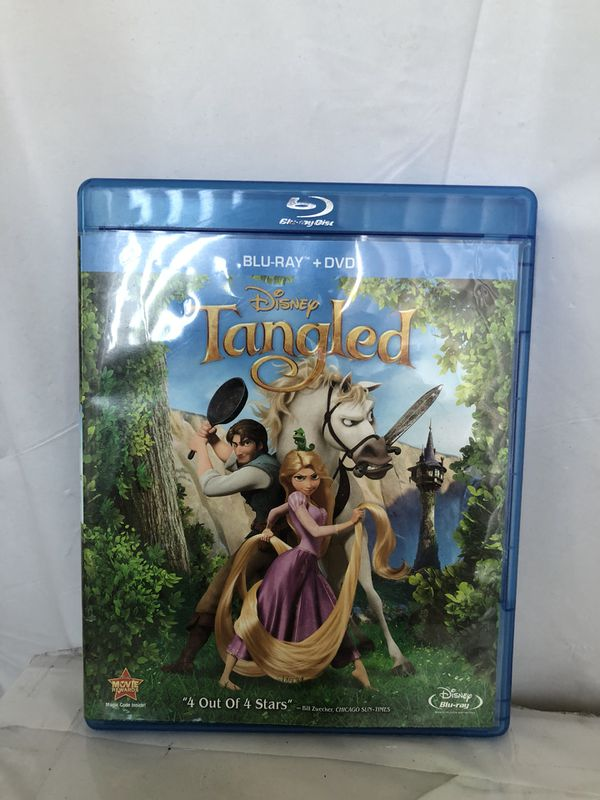 Tangled in Blu Ray