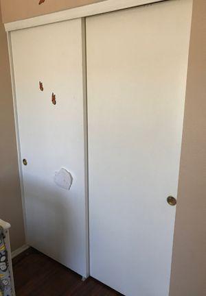 Closet sliding doors with hardware for Sale in Phoenix, AZ