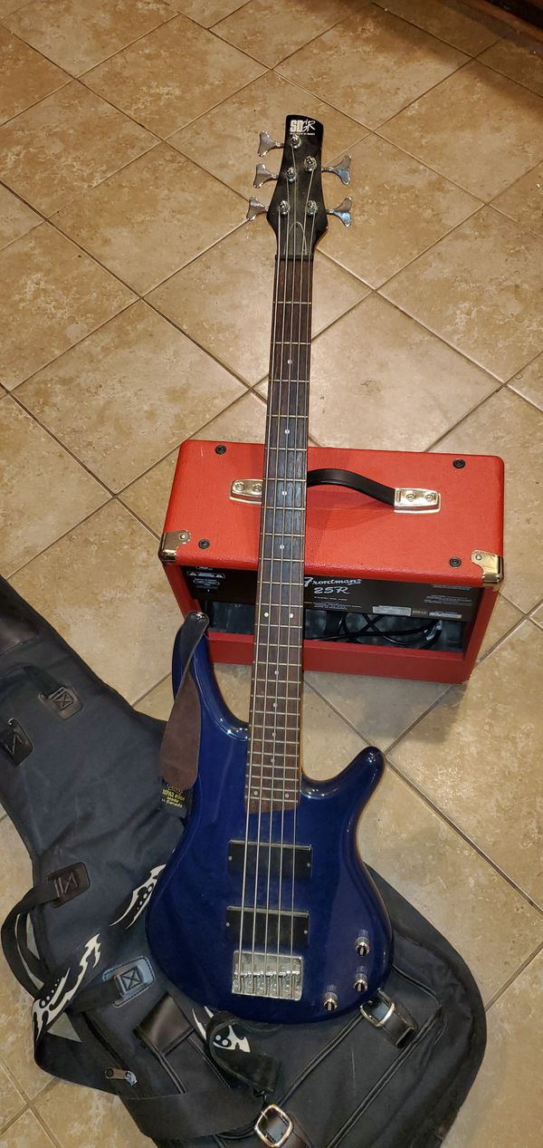 SR 305 electric guitar & Fender Frontman 25R Type: PR 498 Guitar Amp