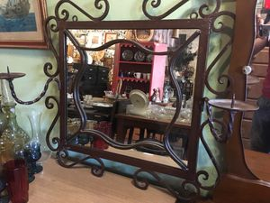 Iron mirror candleholder for Sale in San Diego, CA