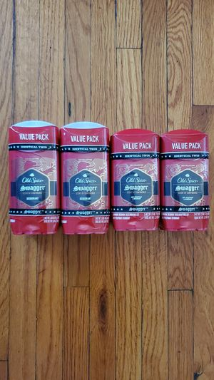 Old spice double pack deodorant $6 each 4 left Value pack for Sale in Riverside, CA