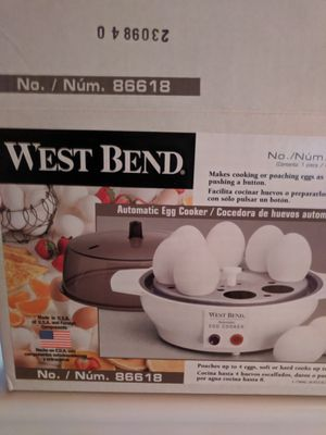West Bend Automatic Egg Cooker Never Used Original Package for Sale in Stokesdale, NC