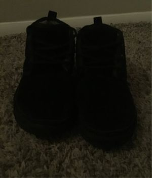 Ugg boot black men size 8 for Sale in Fulton, MD