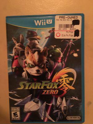 Nintendo Wii U Star Fox zero for Sale in Visalia, CA