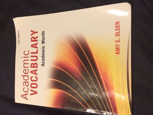 Academic vocabulary sixth edition for Sale in Hialeah, FL