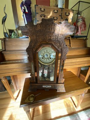 Antique Clock - Asian - made in 1920's for Sale in Seattle, WA