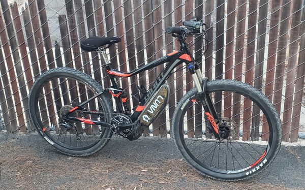 Giant Stance Lunacycle ebike, e powered, KHS, Specialized, Bafang, 52V, Mountain Bike, Full Suspension