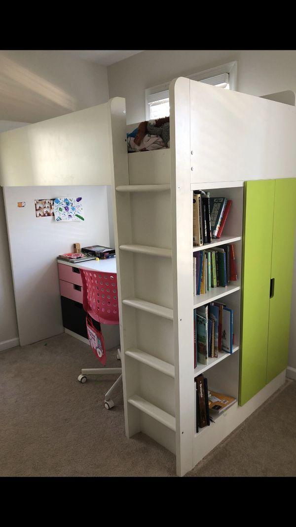 Full Loft Bedroom System