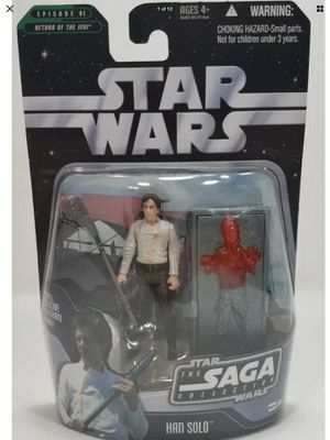 Star Wars - Han Solo - Saga Collection - Exclusive Hologram Figure - Return of the Jedi - Brand New - Exclusive Toys for Sale in Lawndale, CA