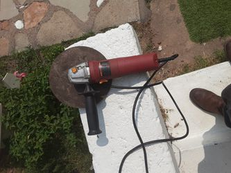 Chicago electric grinder with cutting off weel for Sale in San Angelo,  TX