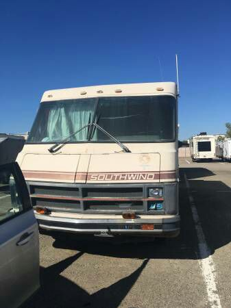 1986 Fleetwood southwind motorhome/RV tiny home!! Clean title 13k original  Miles runs great for Sale in Hayward, CA - OfferUp