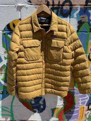 Patagonia down shirt jacket size medium for Sale in Riverside, CA