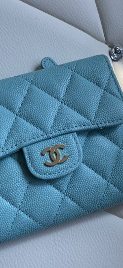 Tiffany Blue Chanel Wallet for Sale in Santa Clarita,  CA
