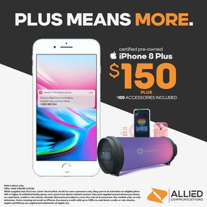 iPhone 8 Plus pre owned for Sale in Raleigh, NC