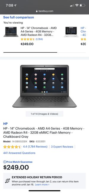 HP- Chromebook laptop for Sale in Humble, TX