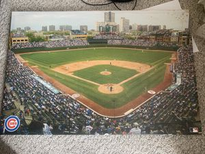 Canvas of Wrigley Field for Sale in Moline, IL
