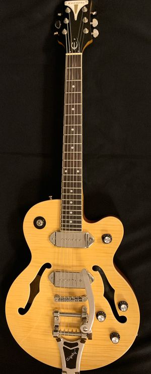 Epiphone Wildkat AN Hollow Body electric guitar with Bigsby tremolo for Sale in West Covina, CA