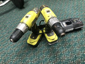 2 Pc Combo Kit, Tools-Power Ryobi Drill & Impact Driver W/2 Batteries.. Negotiable for Sale in Baltimore, MD