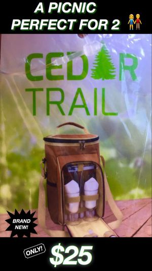 NEW CEDAR TRAIL BACKPACK FOR 2 for Sale in Wildomar, CA
