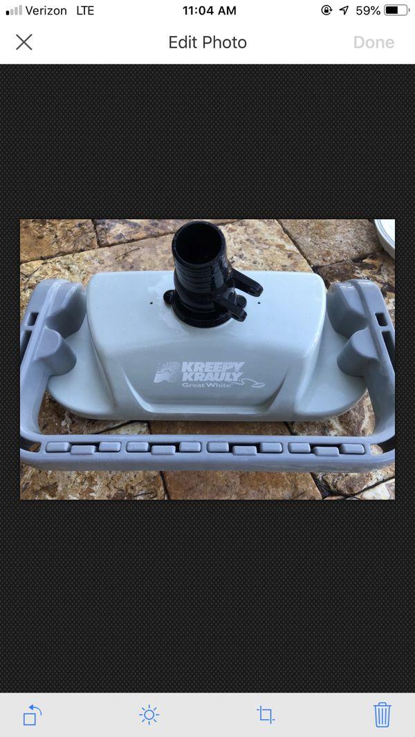 Great white kreepy krauly pool vacuum cleaner
