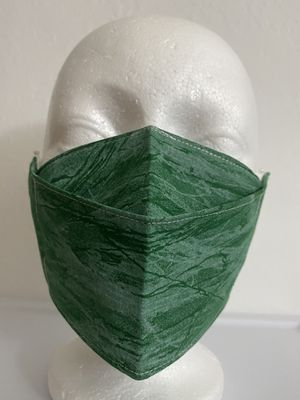 3D Face Mask Adults (Green Bark)-C37 for Sale in San Diego, CA