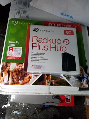 **New***Seagate Backup Plus Hardrive 8TB for Sale in Bend, OR