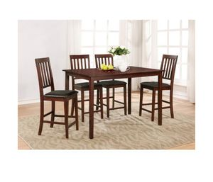 Counter table with 4 chairs for Sale in New York, NY