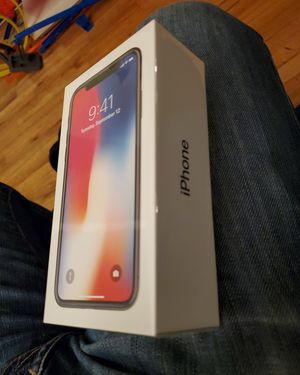 iPhone X 64GB Factory Unlocked Sealed for Sale in Bronxville, NY