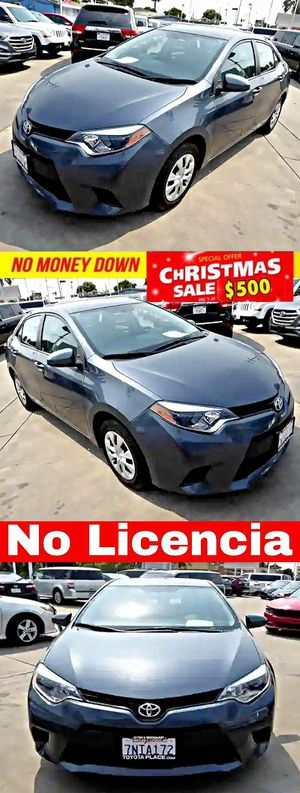 2015 Toyota CorollaLE CVT for Sale in South Gate, CA