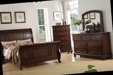 Queen bed frame. Dresser. Mirror and one night stand. Price firm for Sale in Ontario,  CA
