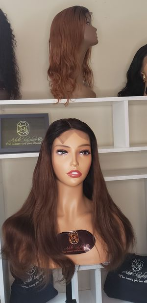 100% human hair closure wig for Sale in Montpelier, MD