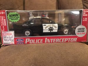 1/24 CHP California Highway Patrol Ford for Sale in La Habra Heights, CA