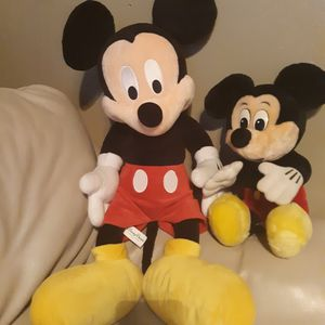 Big and small Mickey mouse for Sale in New Canton, VA