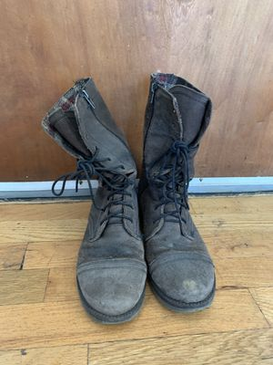 Women's combat boots - size 8.5/39 for Sale in Chicago, IL