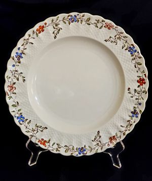 Vintage Copeland Spode Wicker Dale Dinner Plate for Sale in Orlando, FL