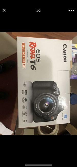 Canon rebel t6 for Sale in San Leandro, CA
