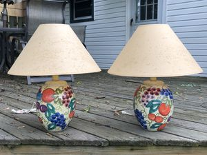 Pair of lamps for Sale in Cleveland, OH