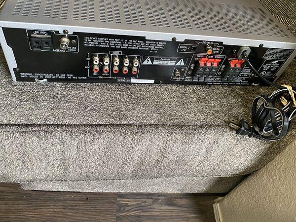 JVC RX-E100SL - AV receiver - 5.1 channel Specs
