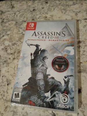 Assassin's Creed 3 remastered Nintendo switch for Sale in Spring, TX