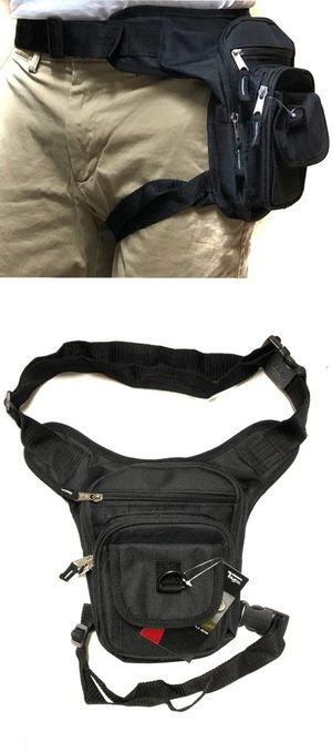 Brand NEW! Black Waist/Hip/Thigh/Leg Bag/Holster Style/Pouch For Traveling/Hiking/Biking/Hunting/Work/Outdoors/Fishing/Sports/Gym for Sale in Carson, CA