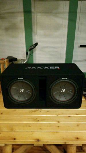Kicker Comp R Subs 12inchs Dual coils 2ohms for Sale in Denver, CO